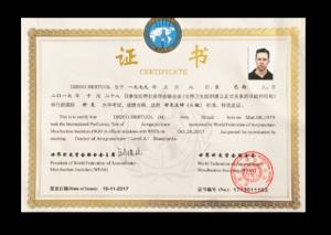 Certificado WFAS Nível A